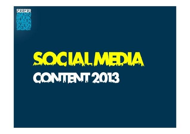 SocialMediaContent2013