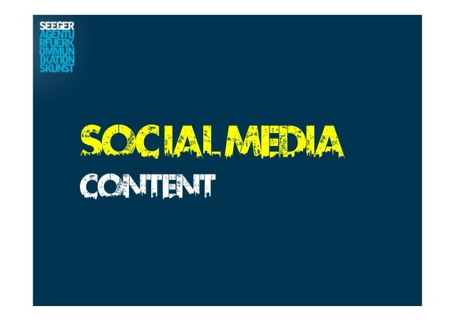SocialMedia Content