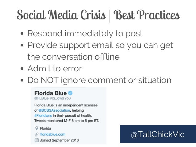Managing a social media crisis | smart insights.
