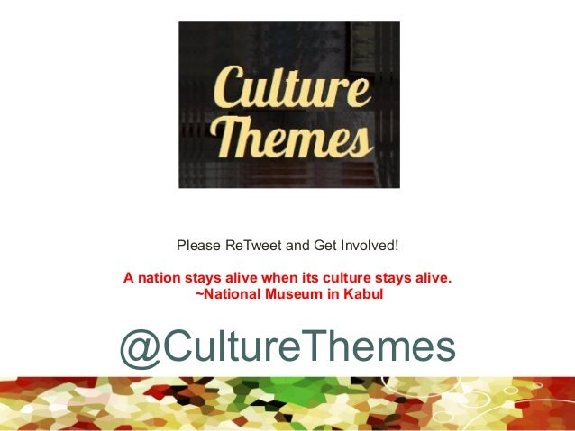 A nation stays alive when its culture stays alive. ~National Museum in Kabul Please ReTweet and Get Involved! @CultureThem...