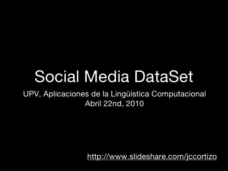 Social Media Dataset