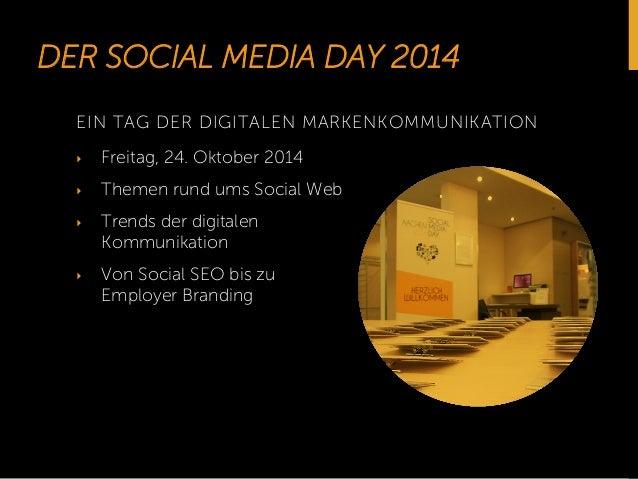 Social Media Day Aachen 2014 Slide 2