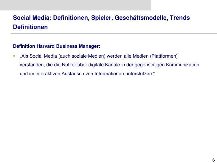 Social media definitionen spieler geschaeftsmodelle for Soil media definition