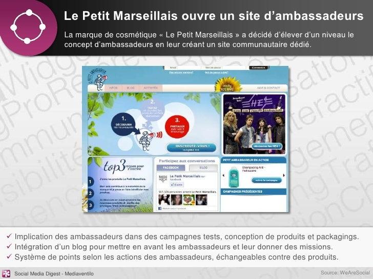 Le Petit Marseillais ouvre un site d'ambassadeurs                       La marque de cosmétique « Le Petit Marseillais » a...