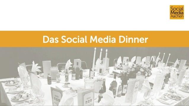 Das Social Media Dinner