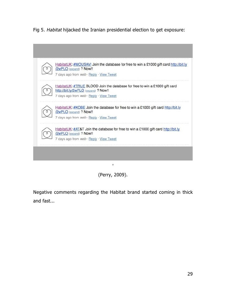 Fig 5. Habitat hijacked the Iranian presidential election to get exposure:                                           '    ...