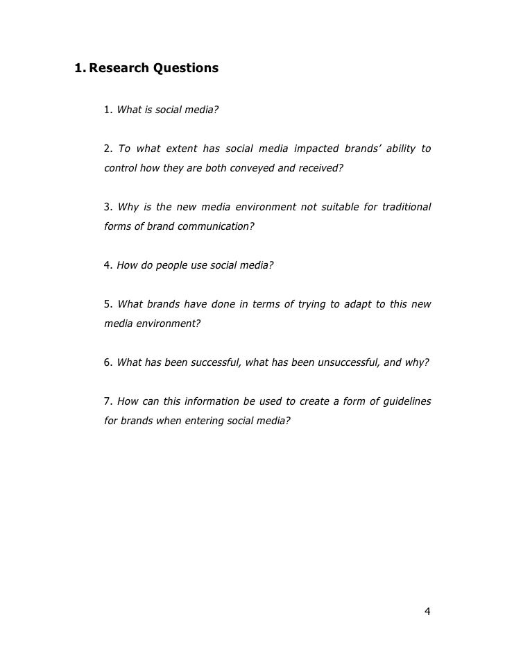 social media dissertation questionnaire Dissertation editing essay surveys in social research, ucl press, london chapter 6, pp 80-106 how to write a research questionnaire.