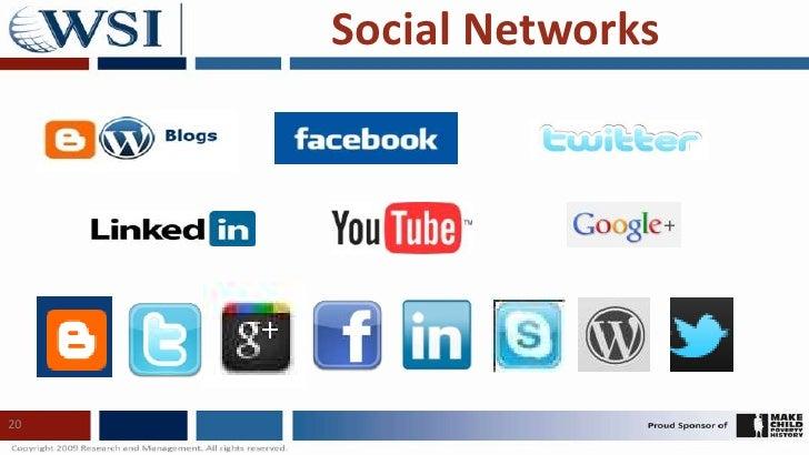 20<br />Social Networks<br />