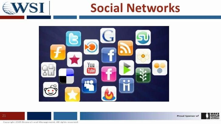 21<br />Social Networks<br />
