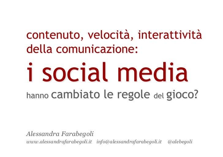 Alessandra Farabegoliwww.alessandrafarabegoli.it info@alessandrafarabegoli.it   @alebegoli