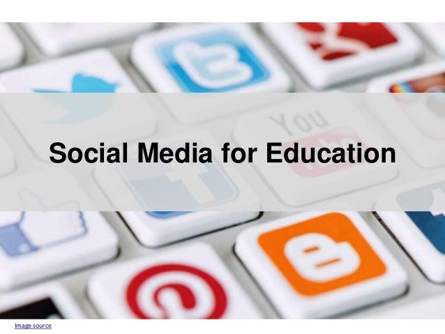 Social Media for Education Image source