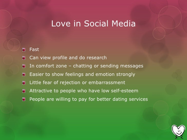 Social media and dating christian