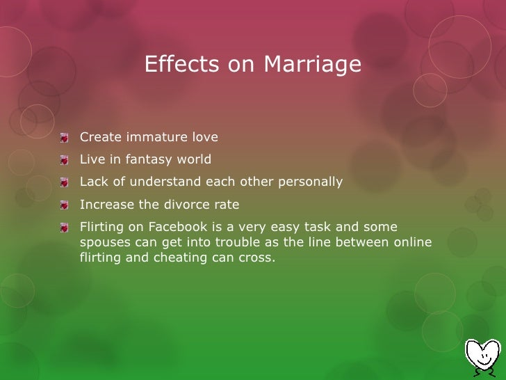 How did social media impact online dating