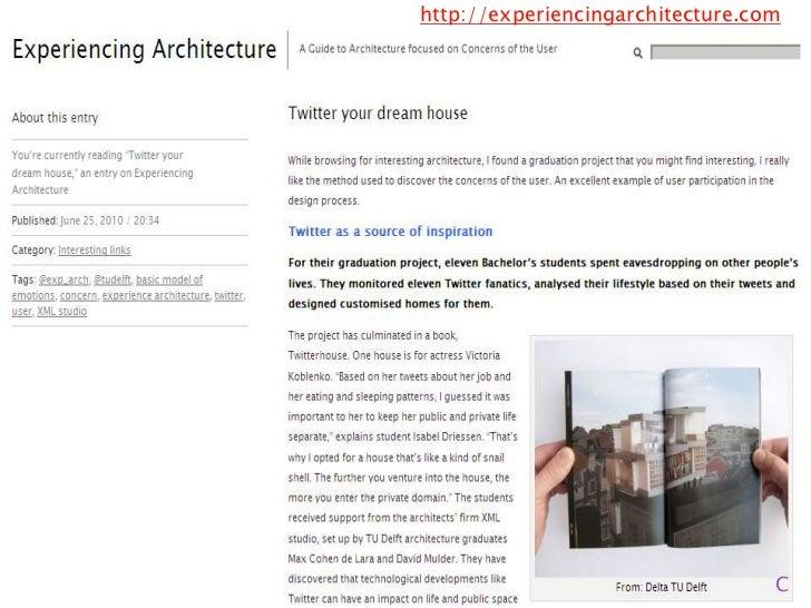 http://experiencingarchitecture.com<br />C<br />