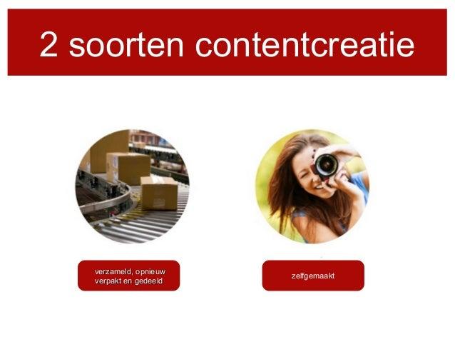 Social media en contentcreatie Slide 3