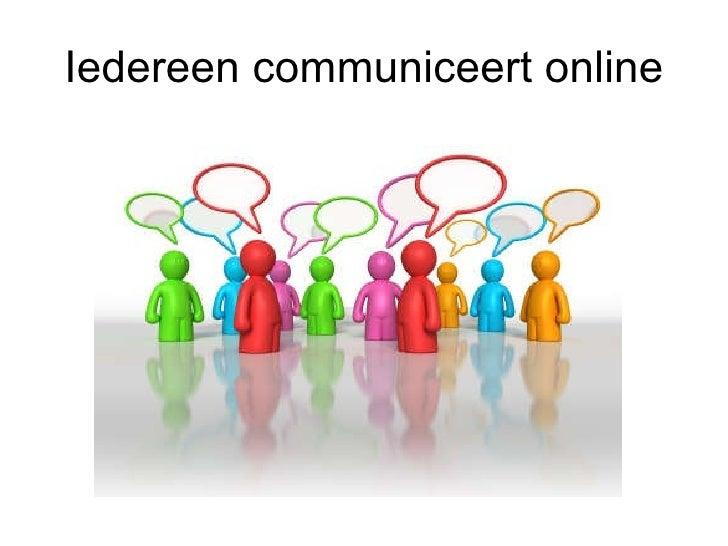 Social media en onderwijs Slide 3