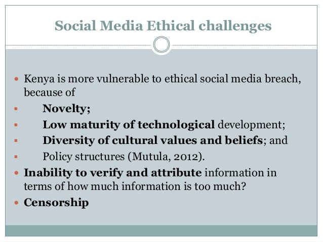 ethical challenges in the media collaboration This guideline will focus on the ethical considerations for social workers when   professional collaboration/supervision using cloud technologies (eg wiki,.