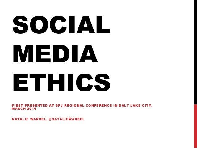 Social Media Ethics Quiz
