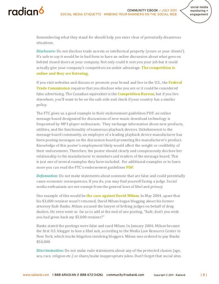 9 community ebook july 2011 social media - Using Social Media For Branding Yourself Promoting Yourself And Finding A Great Job