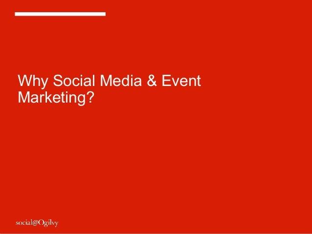 Social Media & Event Marketing Slide 3