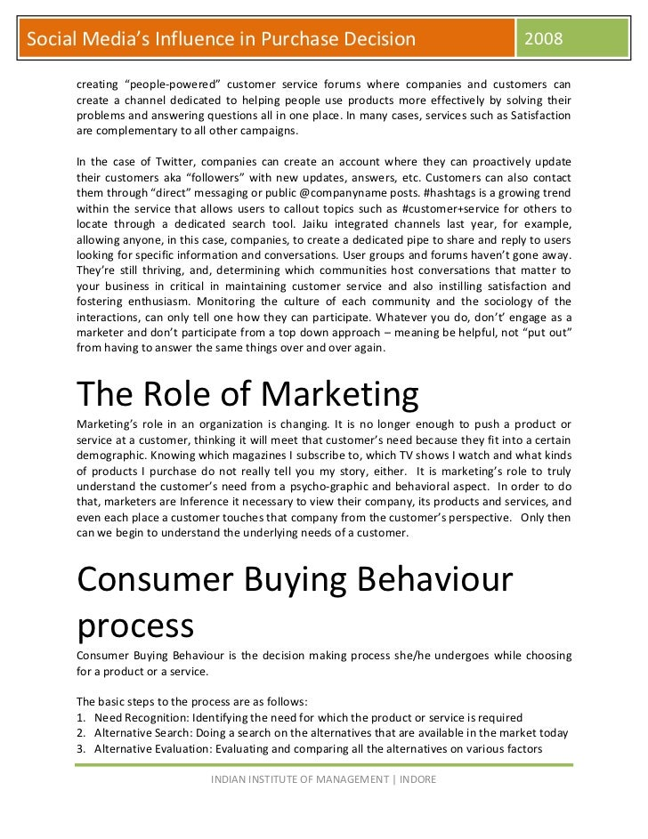 the influence of advertising on a consumers buying decision Consumers go through a decision-making process when they're looking to buy products to increase your chances of them purchasing from you, understanding how they.