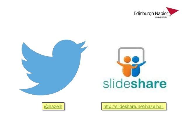 Social media for academic profile Slide 3