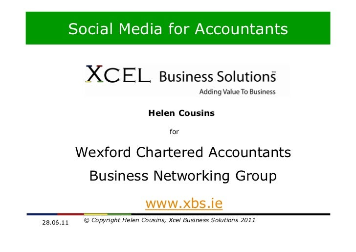 Social Media for Accountants       Social Media for Business                                Helen Cousins                 ...