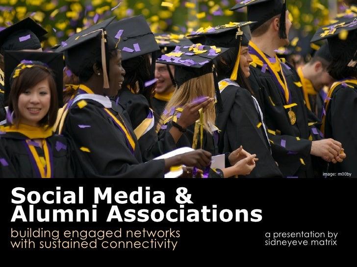 Social Media for Alumni Associations