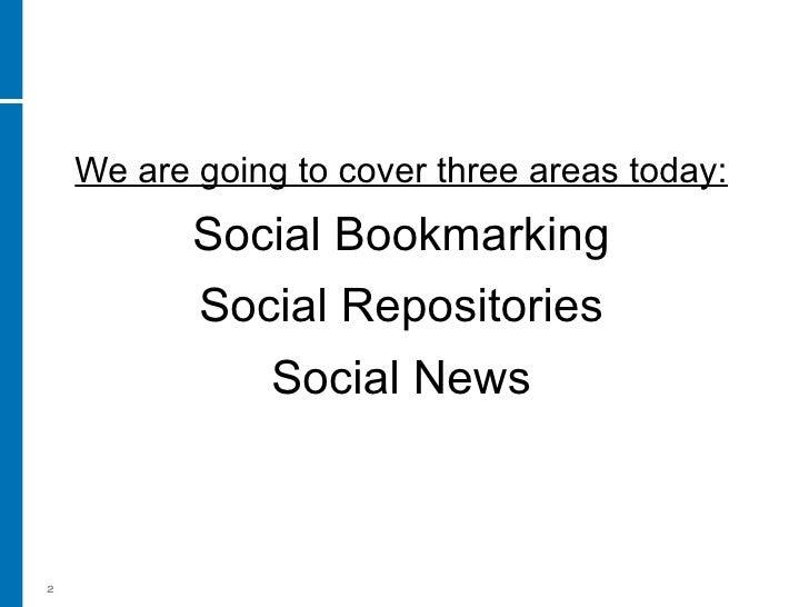 Social Media For Business Part 3 Social Bookmarks And News Slide 2