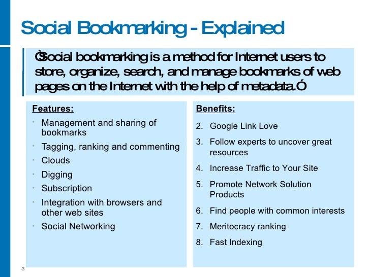 Social Media For Business Part 3 Social Bookmarks And News Slide 3