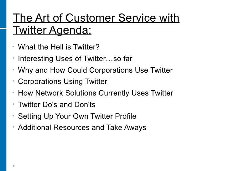 Social Media For Business Part 4 The Art Of Twitter Slide 2