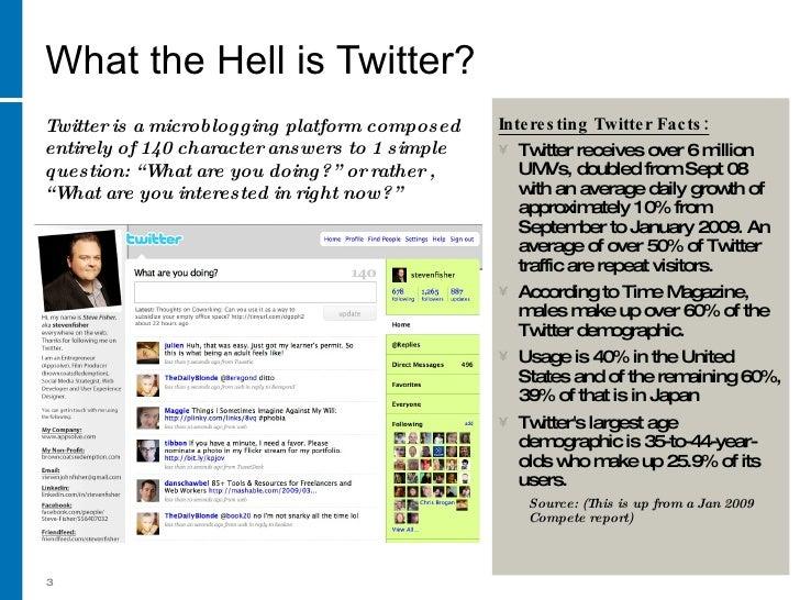 Social Media For Business Part 4 The Art Of Twitter Slide 3