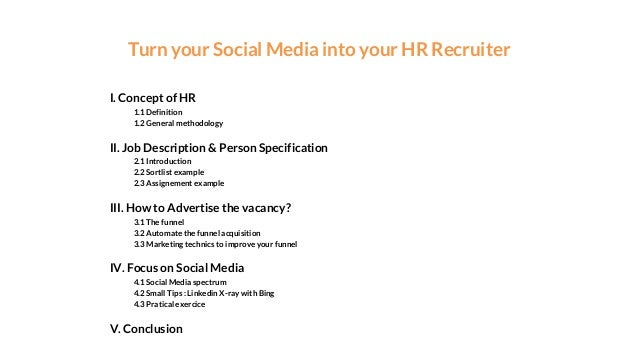 How to turn your social media into your HR recruiter robot.