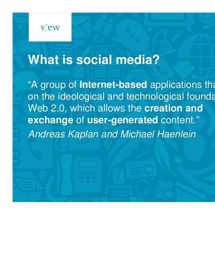 Social media for internal communications Slide 2