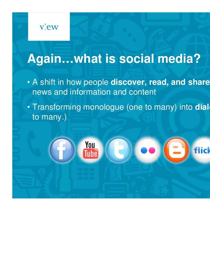 Social media for internal communications Slide 3