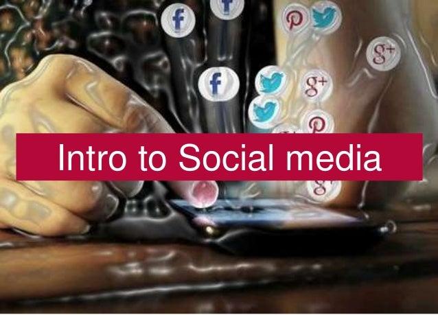 1 Intro to Social media