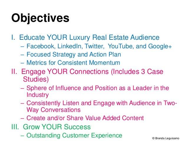 Social Media for Luxury Real Estate Sales by Brenda Leguisamo
