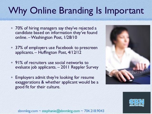 social media for personal branding
