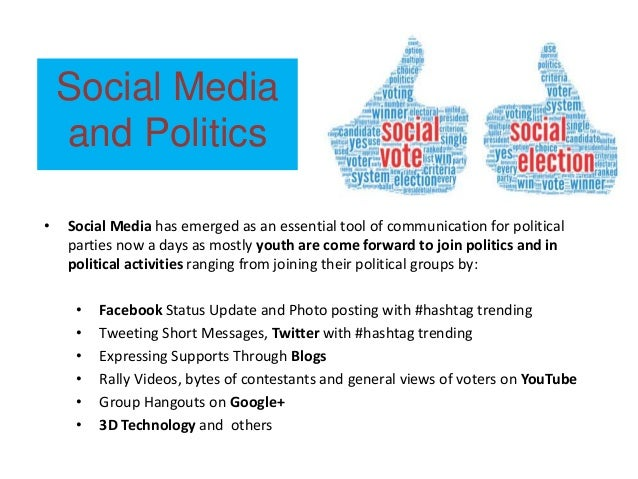 Social media for political campaign in India