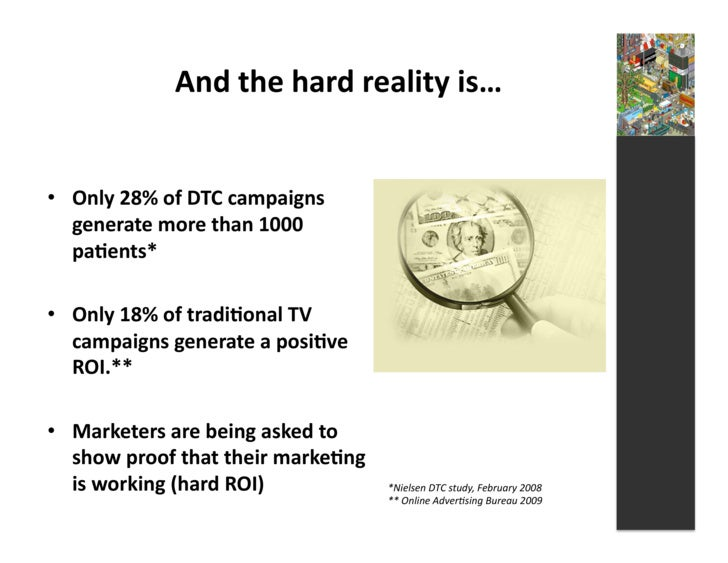 And  the  hard  reality  is…     • Only  28%  of  DTC  campaigns      generate  more  than  100...
