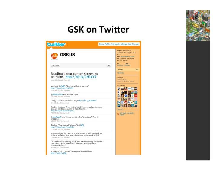 GSK  on  Twiger