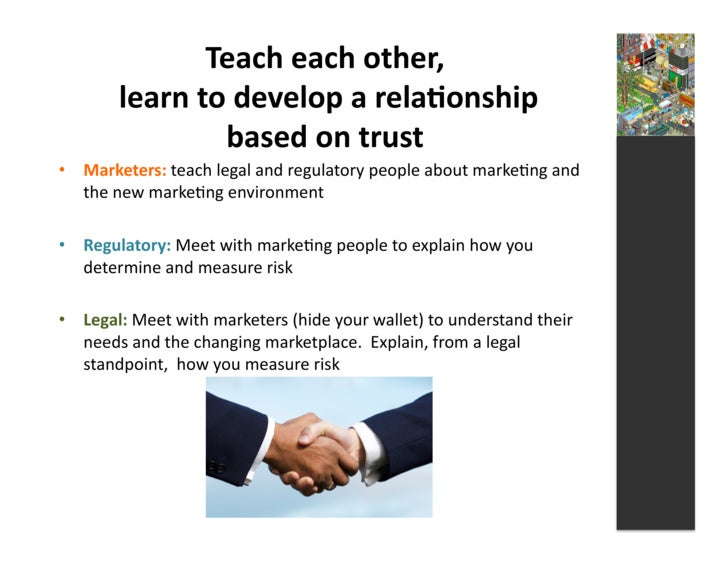 Teach  each  other,                 learn  to  develop  a  rela3onship                              ...