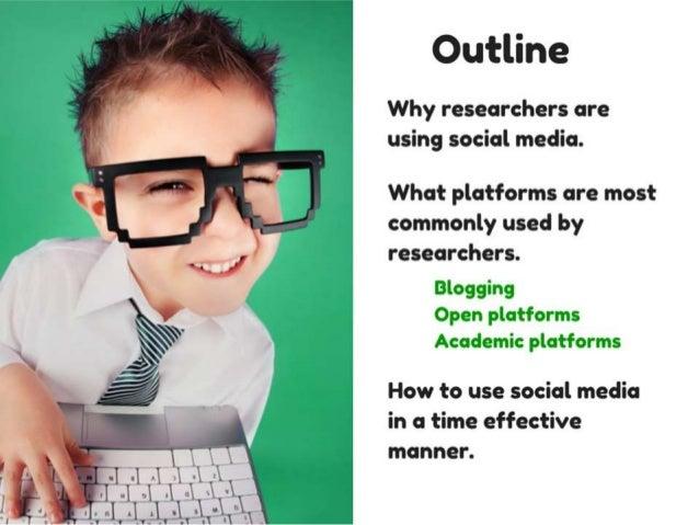 Social media for researchers - Webinar slides Slide 2