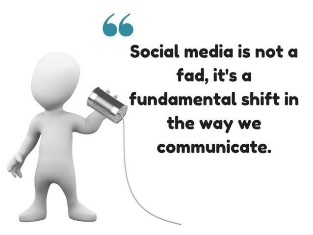 Social media for researchers - Webinar slides Slide 3