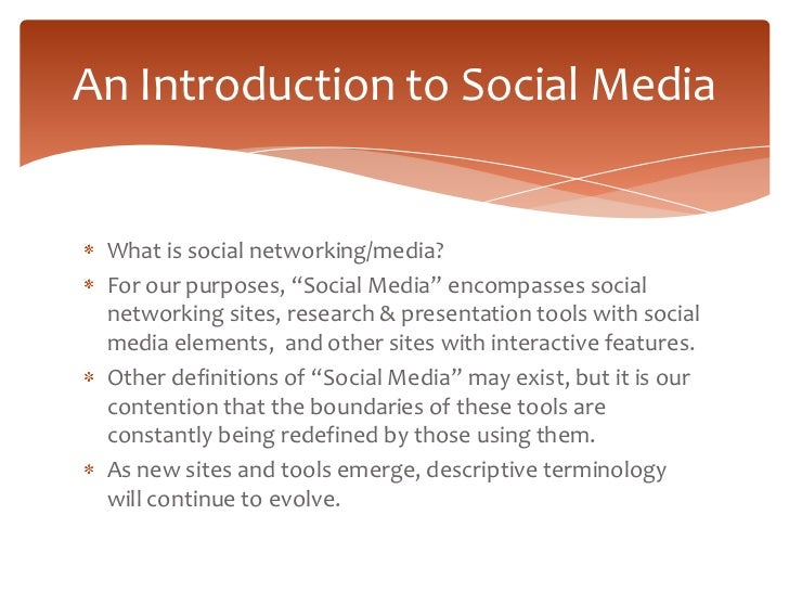 Social Media for Scholars Slide 3