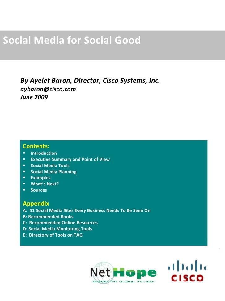 Social Media Handbook for Nonprofits