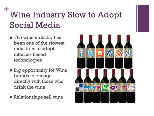 marketing in the wine industry The wine market council and nielsen present their annual report on us wine, beer and spirits trends.