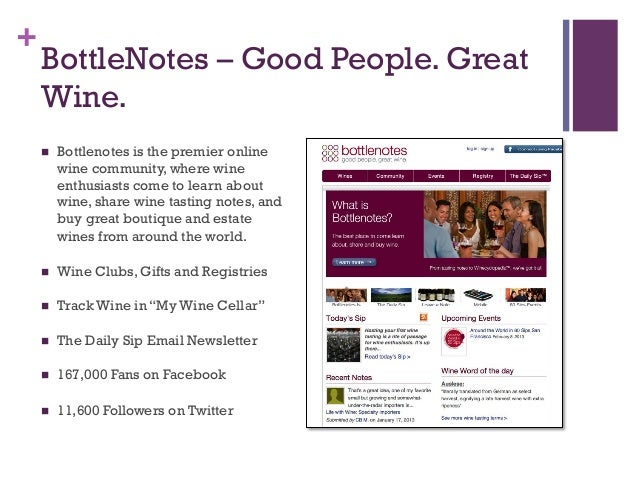 Social Media Marketing For The Wine Industry Silicon