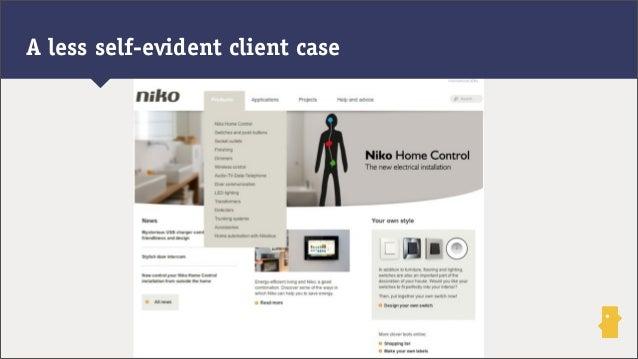 A less self-evident client case