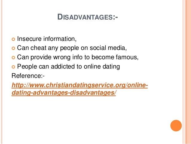Online dating advantages and disadvantages essay